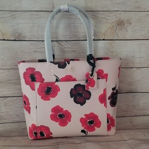 🆕️NWT Kate Spade Hyde Lane Poppies Riley Rose Dew